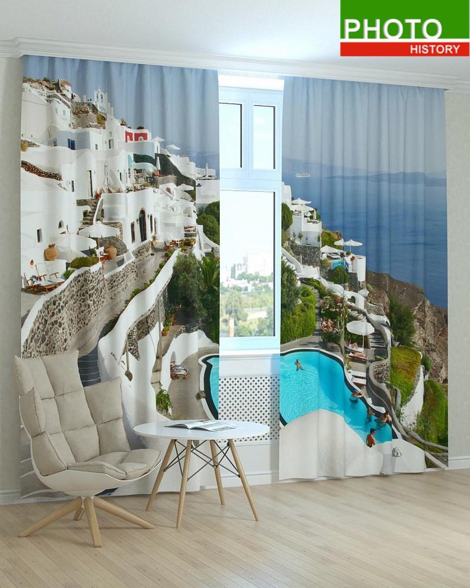Фотошторы Греция курорт