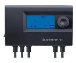 Euroster 11W - контроллер управления твердотопливного котла с вентилятором и насосом Ц.О.