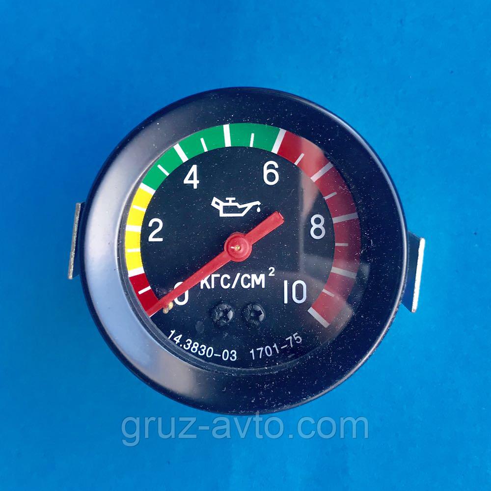 Указатель давления масла механический или манометр 10 МПа Камаз-5320/ 14.3830-03