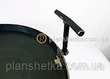 Сковорода из бороны съемные ножки и ручки 400 мм , фото 3