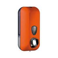 Дозатор мыла жидкого пластик оранжевый 0,55л Colored