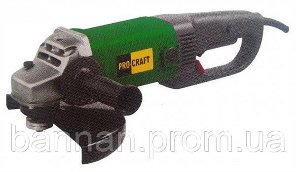 Машина угловая шлифовальная   Procraft PW-230/2300