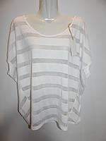Блуза легкая фирменная женская Gina 68-70р.095ж