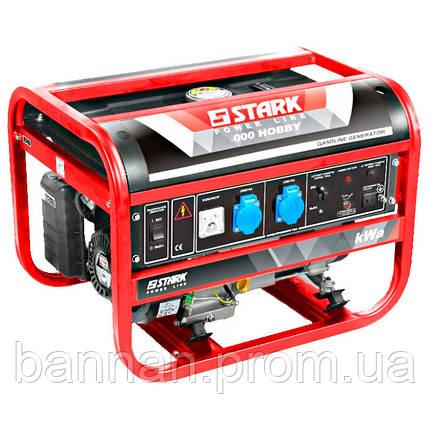 Бензиновый генератор STARK 3000 HOBBY, фото 2