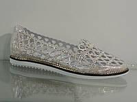 Летние женские кожаные туфли , фото 1
