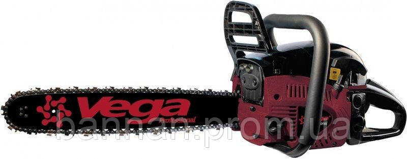 Пила бензиновая VEGA VSG-450T (2 шины, 2 цепи)