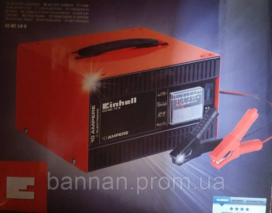 Einhell CC-BC 10 E Зарядное устройство, 10 А/12 В, от 5 А/ч-200 А/ч
