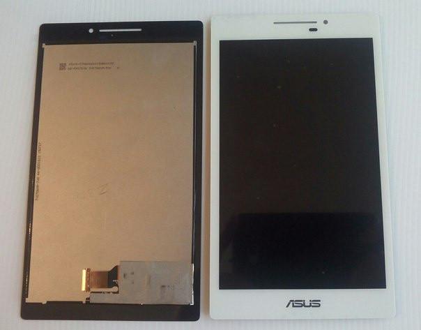 Дисплейный модуль для планшета ASUS ZENPAD 7.0 Z170C Z170CG в сборе с тачскрином, белый # TV070WXM-TU1