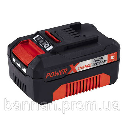 Аккумулятор Einhell Power-X-Change 18V 5,2 Ah plus, фото 2