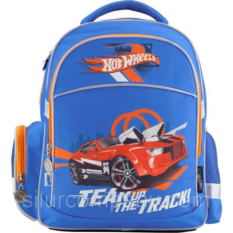 508cf150faa3 Рюкзак школьный для мальчика Тачки Kite Hot Wheels HW18-510S - Интернет  магазин