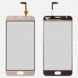 Сенсорний екран для смартфону Ulefone Power 2, тачскрін золотистий