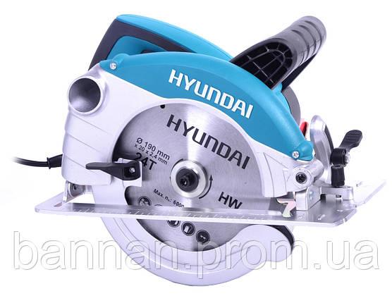 Циркулярная пила Hyundai C 1500-190, фото 2