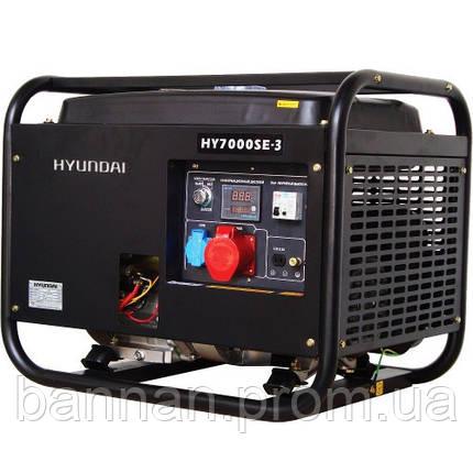 Генератор бензиновый Hyundai HY 7000SE-3, фото 2