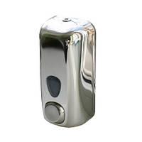 Дозатор мыла жидкого металл глянц. 0,55л