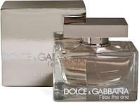 Женская туалетная вода Dolce & Gabbana L`eau The One edt 75 ml. женский Реплика