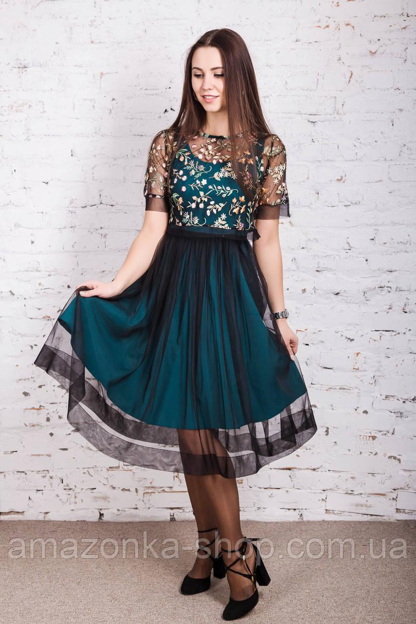 Нарядное выпускное платье для девушек 9-11 классов 2018 - Код пл-233