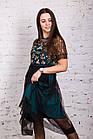 Нарядное выпускное платье для девушек 9-11 классов 2018 - Код пл-233, фото 2