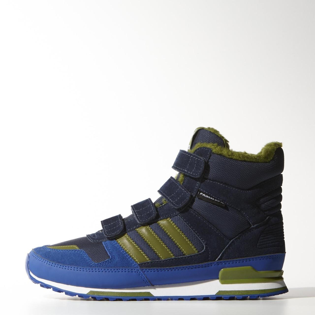 Детские ботинки Zx adidas  WINTER CF K (АРТИКУЛ: M17948)