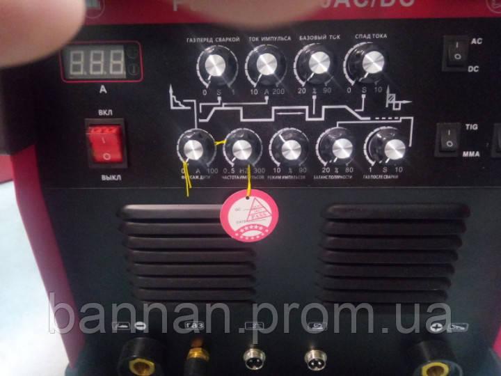 Интверторная аргонная сварка Edon PULSE TIG-200 AC/DC 3