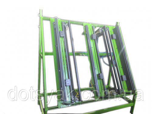 Стол пневмо-механический для изготовлення поддонов, фото 2