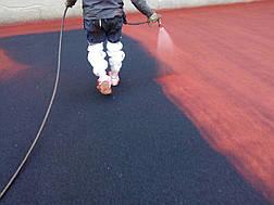 Teking Paint бесшовное покрытие для спортивных площадок, фото 3