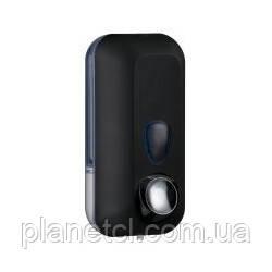Дозатор мыла жидкого пластик черный 0,55л Colored - Планета чистоты в Киеве