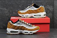 Мужские кроссовки Nike 95 рыжие 3181