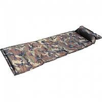 Самонадувающийся коврик с подушкой