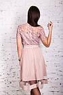Нежное женское платье с вышивкой 2018 - Код пл-250, фото 3