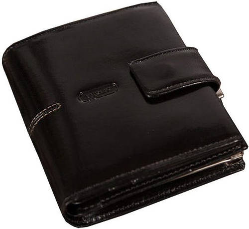 Женский кожаный кошелек VERUS London, 26A LN черный