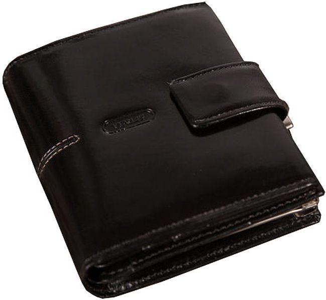 Жіночий шкіряний гаманець VERUS London, V26.A.LON чорний