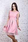 Стильное праздничное платье для девушек 2018 - Код пл-245, фото 6