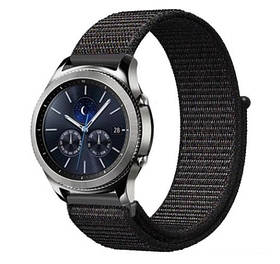 Нейлоновий ремінець Primo для годин Samsung Gear S3 Classic SM-R770 / Frontier RM-760 - Black