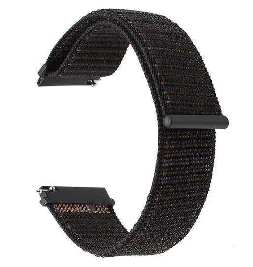 Нейлоновий ремінець для годинника Motorola Moto 360 2nd gen (42 mm ) - Black