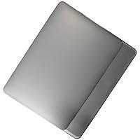 """✸Чехол-накладка MacBook Retina 13"""" Grey для ноутбука защитный против сколов и царапин"""