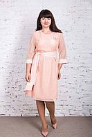 Нежное платье для дам больших размеров 2018 - Код пл-238, фото 1