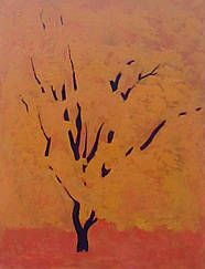 "Картина ""Абрикоса"" 80х60 см (акрил, масло)"
