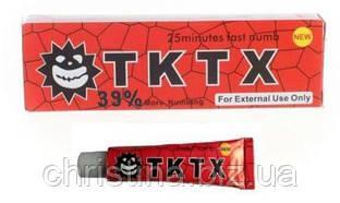 Крем анестетик для кожи TKTX 39% (Red)10гр. Лидокаин 5%, Прилокаин 5%, Эпинефрин 1%
