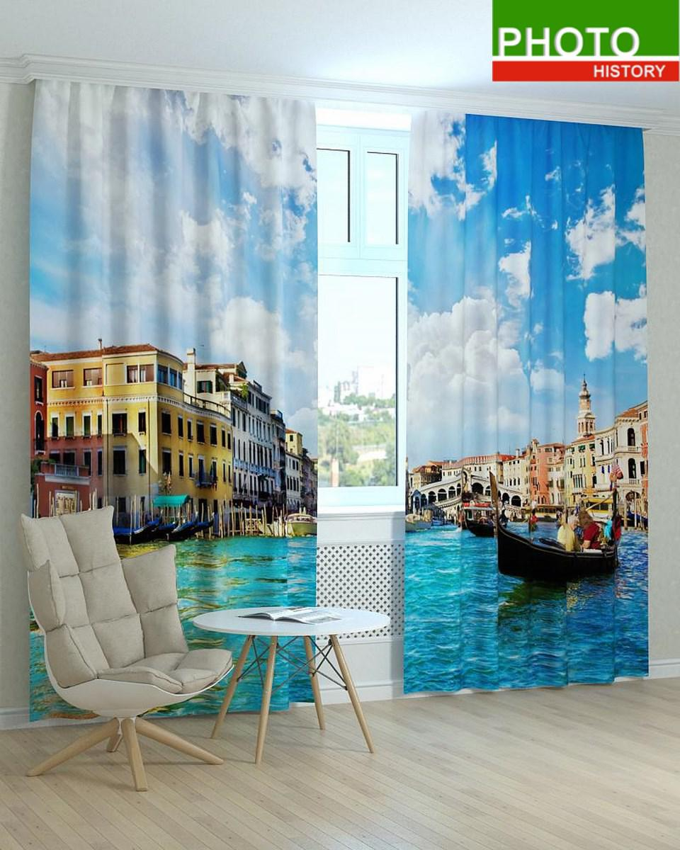 Фотошторы прекрасна Венеція