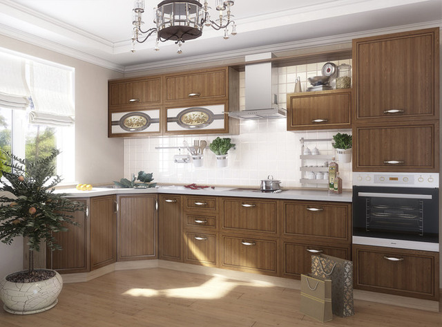 кухни с пленочными мдф фасадами фото
