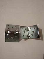 Уголок крепежный монтажный перфорированный усиленный 40х40х40