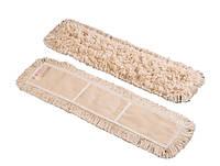 Моп хлопчато-бумажный для сухой и влажной уборки с карманами 80 см (VDM 4133)