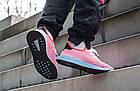 """Мужские кроссовки adidas Deerupt Runner """"Solar Bird"""" Red/Blue (в стиле Адидас) розовые, фото 3"""