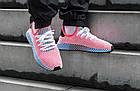"""Мужские кроссовки adidas Deerupt Runner """"Solar Bird"""" Red/Blue (в стиле Адидас) розовые, фото 2"""