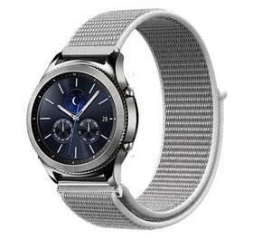 Нейлоновий ремінець Primo для годин Samsung Gear S3 Classic SM-R770 / Frontier RM-760 - White