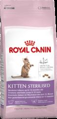Royal Canin KITTEN STERILISED0,4кг корм для стерилизованных котят до 12 месяцев.
