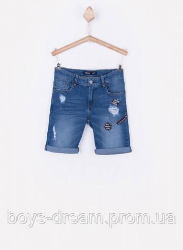 Шорты джинсовые для мальчика 8-15 лет (Португалия)