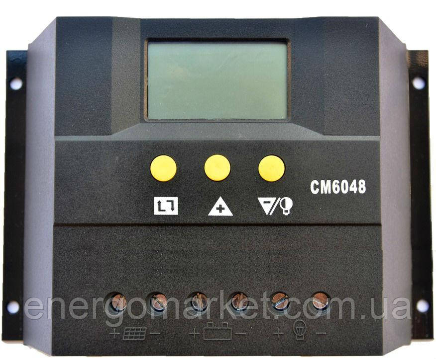 Контроллер заряда JUTA CM6048 (60A 48V)