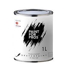 Маркерная краска Однокомпонентная Paintforpros, Прозрачная, 1л на 14 кв.м.