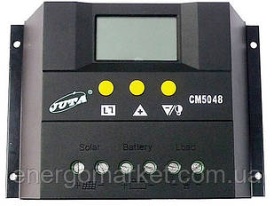 Контроллер заряда JUTA CM5048 (50A, 48V)